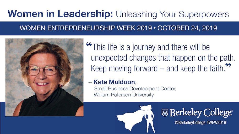 Kate Muldoon Quote - Women Entrepreneurship Week