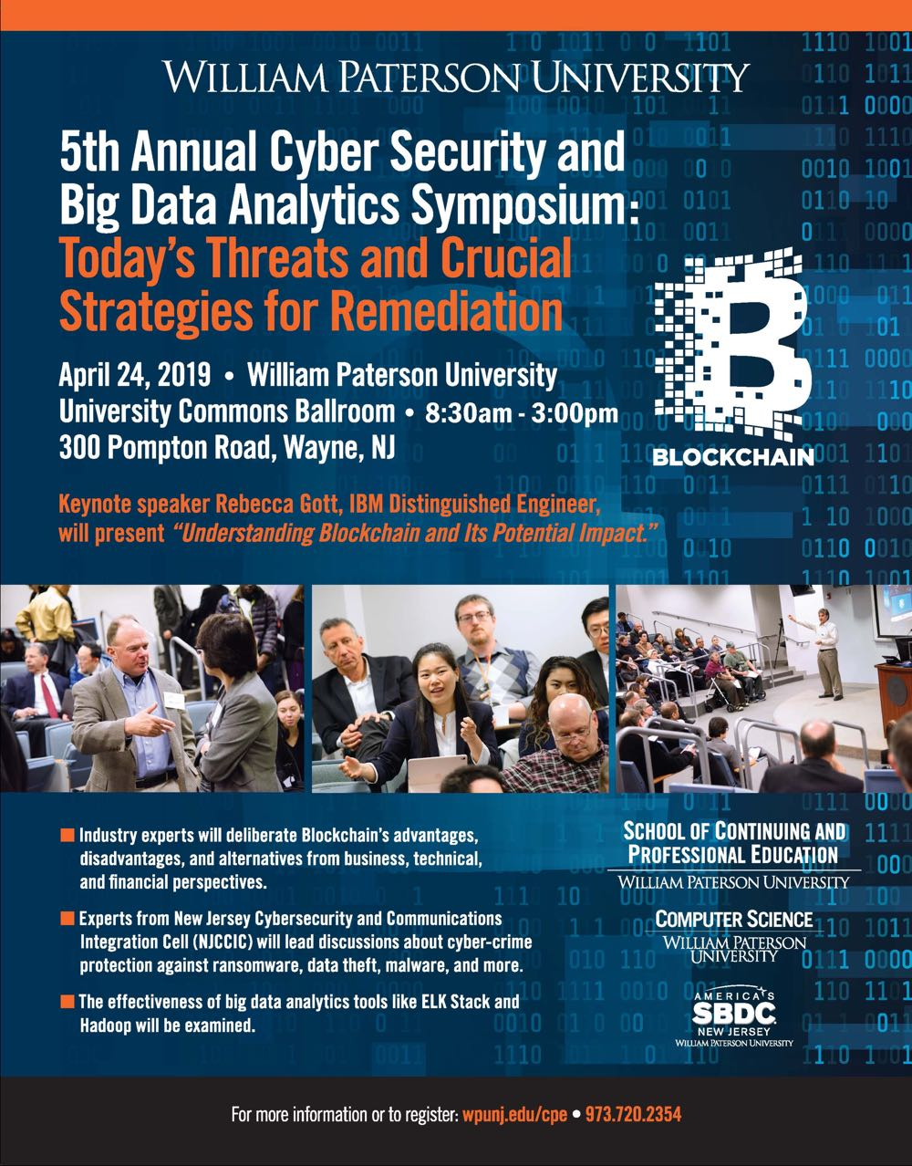 5th Annual Cyber Security and Big Data Analytics Symposium