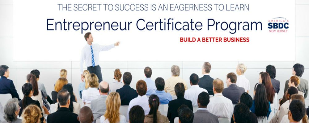 Entrepreneur Certificate Program